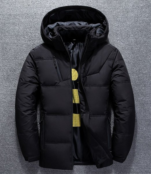 2019 Moda Nueva chaqueta ultraligera para hombre Casual Otoño Invierno Pato blanco Abajo Cazadora Abrigo Abrigo cálido Parka Abrigo masculino Moda Ropa de abrigo03