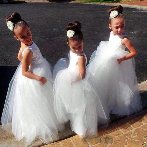 Flower Girl Princess Dress Birthday Wedding Bridesmaid Formal Pageant Graduation