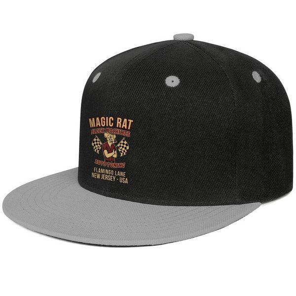 Bruce Springsteen Ispirato JUNGLELAND Design Hip-Hop Cap Snapback Flat Bill Brim Cappello da sole regolabile