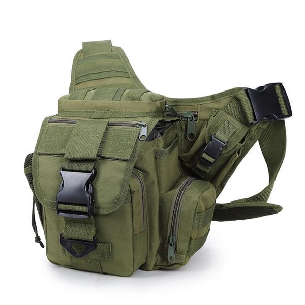 d2f08455d Bolsa táctica al aire libre 600D Bolso militar de los hombres Molle Army  Sport Shoulder Bag