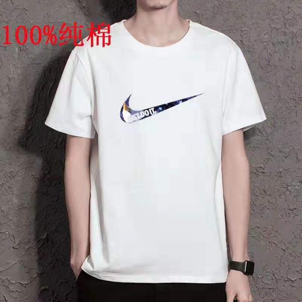2019 чистая хлопковая футболка, Прямые продажи по заводской цене, чистый хлопок.Как раз для вас испытать наши одежды.Пожалуйста, смотрите подробности!