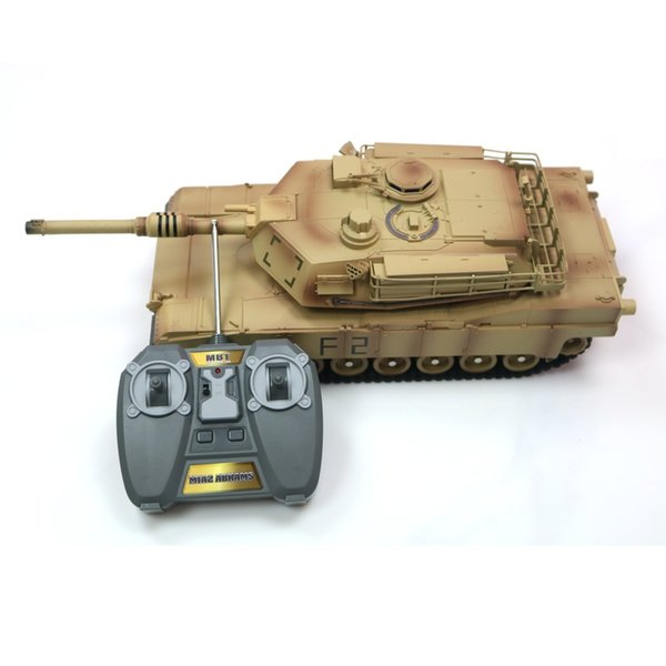 M1A2 RC Tank 41CM Electrically Driven Toy Tank Remote Control Toys RC Car Electronic Games for Children Boys Birthday Gifts