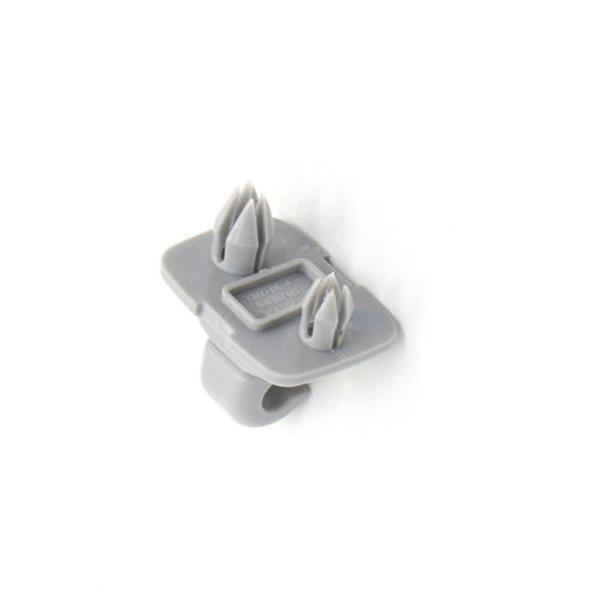 Car Interior Sun Visor Clip Hook For A1 A3 S3 A4 S4 A5 S5 Q3 Q5 gray ABS sun visor clip Easy for apply and use