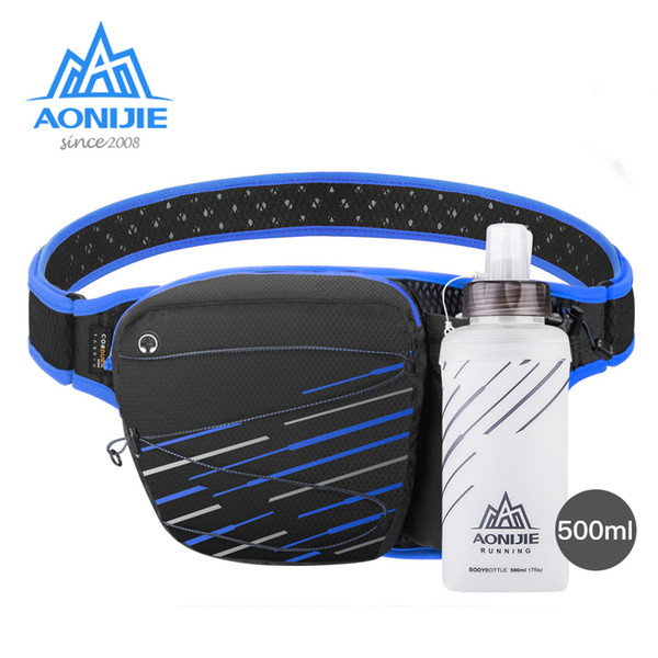 AONIJIE W949 Marathon Jogging Vélo Courir Hydratation Ceinture Taille Sac Poche Fanny Pack Sack Détenteur De Téléphone Portable Randonnée Camping