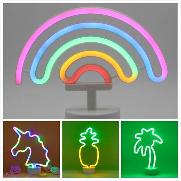 20 Mode NEW Cute Home Wall Decor Fashion Colorful Moon Led Neon Sign Light Holiday Xmas Party Wedding Decorations Kids Room Night Lamp