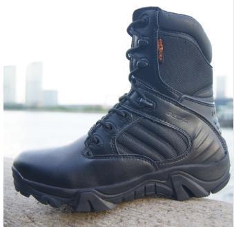 Compre Invierno Otoño Hombres Botas Militares Calidad Especial Fuerza Táctica Desierto Combate Tobillo Barcos Ejército Zapatos De Trabajo Botas De