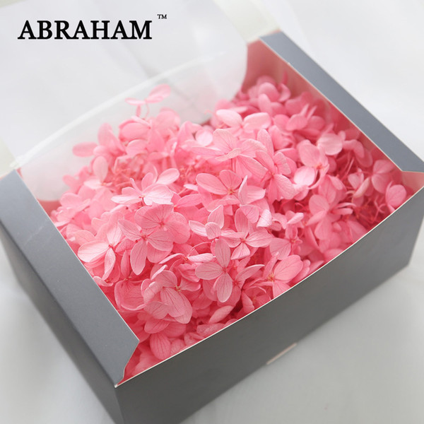 20g Colorful Nail Art Flower Decoration Dry Real Natural Pressed Flowers HydrangeaFloral Sticker Decal for DIY Manicure Crafts