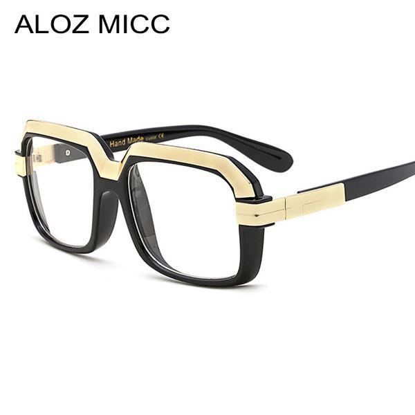 eeb70065605 ALOZ MICC Fashion Oversize Unisex Eyeglasses Frames Acetate Spectacles  Unique Optical Frame uv400A095