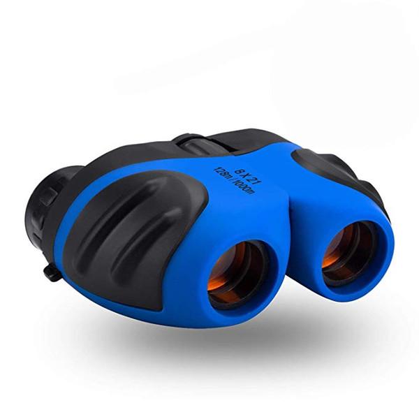 Giocattoli Binocolo per bambini 8x21 Compatto antiurto Telescopio a Wildife per bambini Giocattoli da giardino I migliori regali