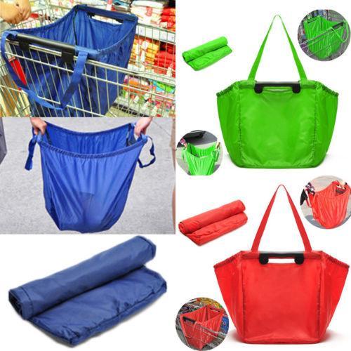 Многоразовая складная женская сумка для покупок Eco-Grocery Tote Handy Bag Fold Away Bag