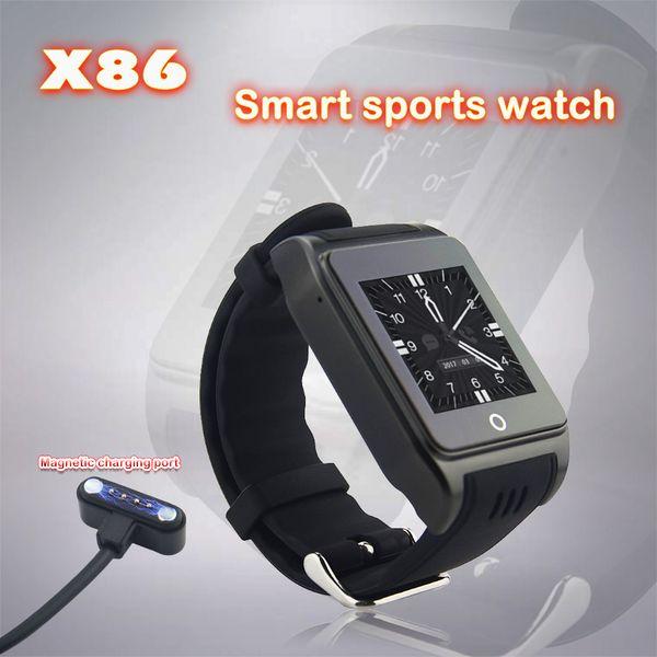 3G WCDMA GPS Tracker X86 Smart Watch con videocamera HD Illuminazione a LED Rete libera Bluetooth 4.0 Suggerimenti per informazioni in tempo reale