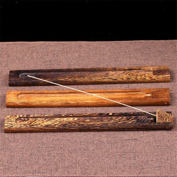 Durable Home Decoration Rosewood Rhizome Incense Burner Censer Santal Natural Bamboo for Creative Incense Holder