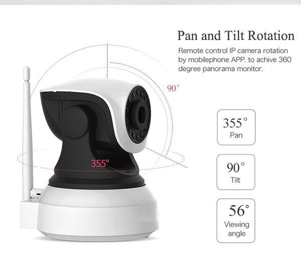 Monitor del bambino al coperto della rete della videocamera di sicurezza di notte di videosorveglianza di Wifi della videocamera senza fili di HD IP