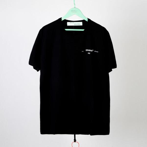 Designer T-shirt Hohe Qualität 2019 Frühjahr und Sommer Ölgemälde Boot Männer und Frauen mit dem gleichen Absatz Baumwolle Kurzarm T-Shirt