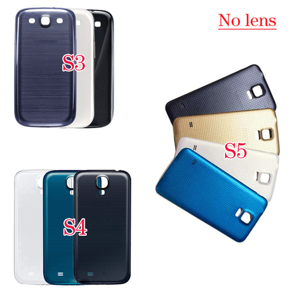 For Samsung Galaxy S3 S4 S5 Back Housing Cover Case For Galaxy S3 i9300 S4 i9500 i9505 I9505 S5 i9600 G900 Battery Cover