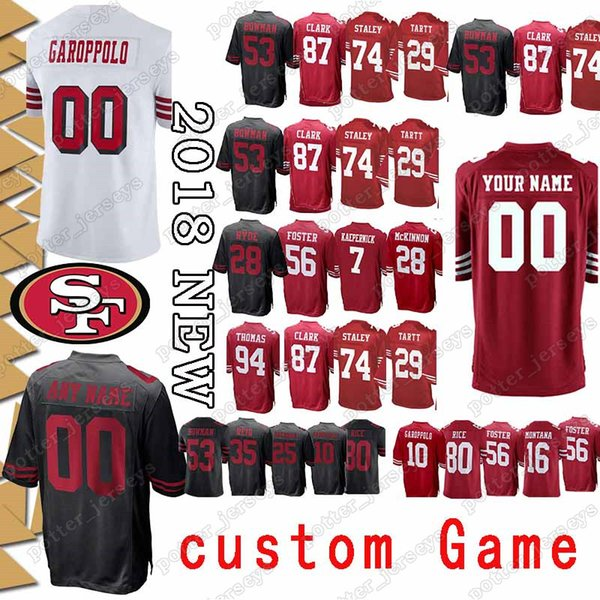 innovative design 947eb 4cd36 2019 San Francisco 22 Matt Breida 49er Jerseys 27 Adrian Colbert 11  Marquise Goodwin 40 Colin Holba 26 Greg Mabin 54 Cassius Marsh Jersey From  ...