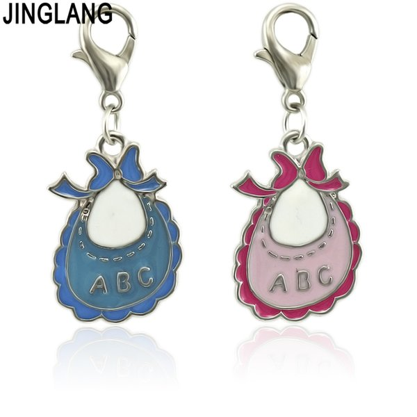 JINGLANG Apron Infinity Symbol Metal Charm Connector Accessories Bracelet Necklace Jewelry DIY Production