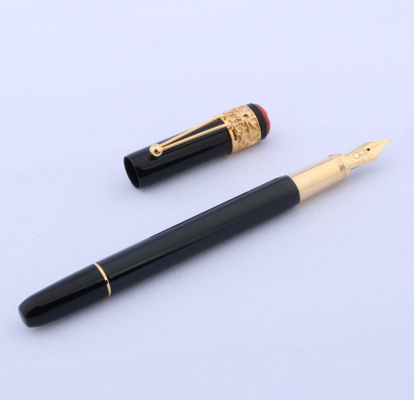 best selling Writing Business Supplies Gift Metal luxury golden gift classic spider Fountain Pen