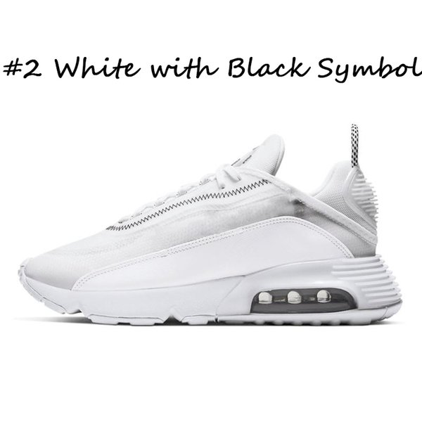 #2 White with Black Symbol