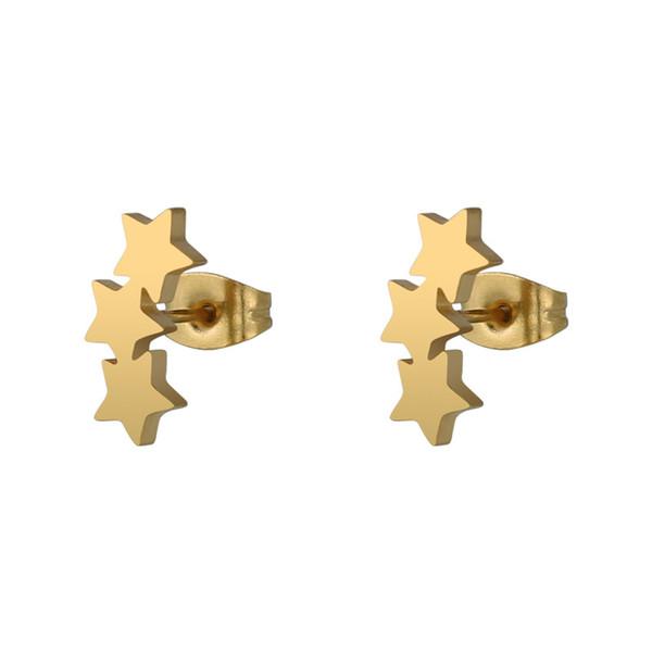 Colore oro 1 paio