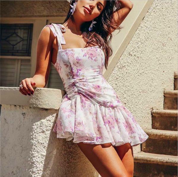 Compre Nice Ruched Alça Plissado Vestidos Chiffon Vestido Sem Mangas Xxx Prom Estilo Victorian Vestido Mini Uma Linha Agradável Menina Doce Vestido De