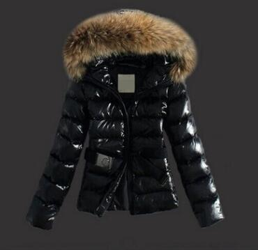 Venta al por mayor- 2019 Marca de ropa de moda Señora de invierno Parka cuello de piel con capucha Big Eyes Coat Gruesa chaqueta de algodón acolchado cálido Abrigo Plus Tamaño