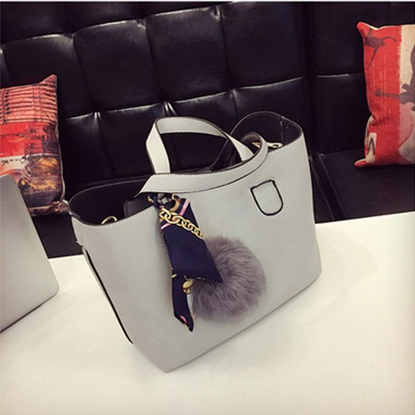 Fashion Soft Pu Leather Women Handbag Two Pieces Female Shoulder Bag Girls Messenger Bag Casual Lady Date Burgundy/black Bag Y190620