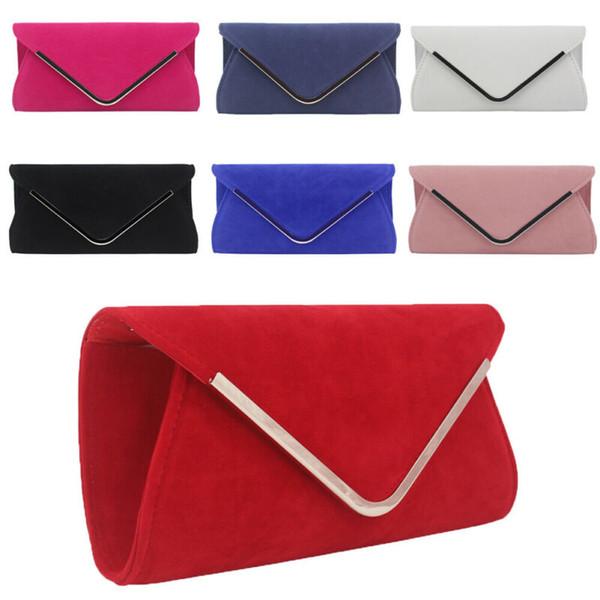 Women Patent Leather Clutch Medium Evening Party Handbag Ladies Prom Bridal Bags