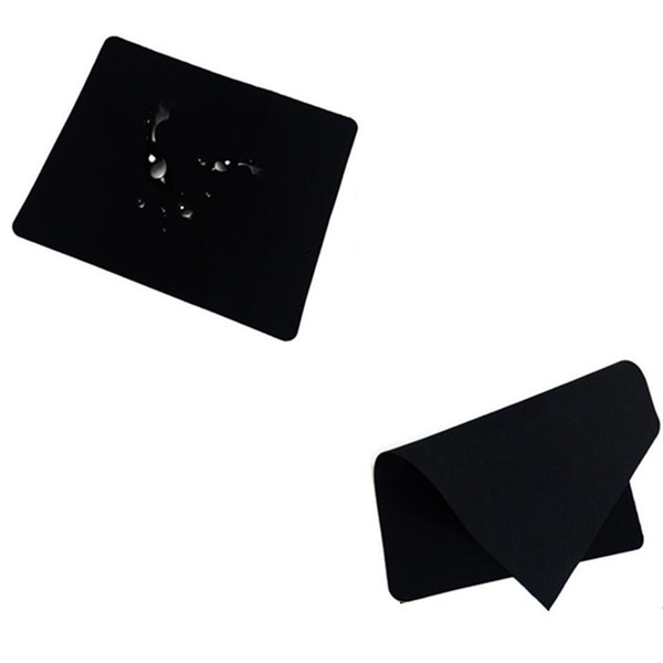 top popular 1.2mm thickness 20.0cmx24.0cm Natural gamingMouse Pad rubber New black tasteless Mice Mouse Pad Mat Mousepad 2021
