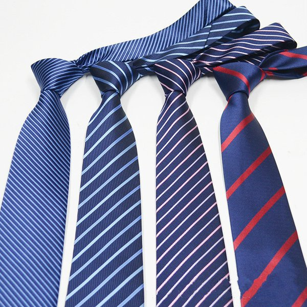 New Accessories Ties For Men Striped Pattern Men Business Tie Social Wedding Party Formal Tie Men's Clothing Accessories