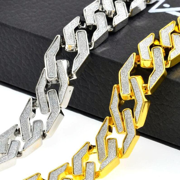 Позолоченный кубинский браслет-цепочка для мужских топов Качественные аксессуары для поп-клуба Ice Out Хип-хоп Браслеты Позолота Браслет Циркон Цепи Подарок