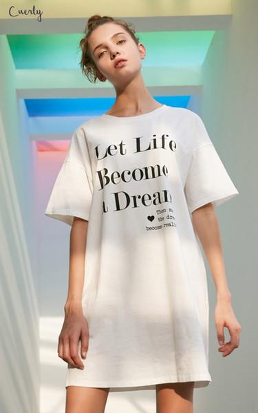Kadınlar Beyaz Satış Dressed Tasarımcı Giyim İçin Mektup 2015 Elbiseler Baskı Boş Tişörtlü Mini Club Giydirme Plus Kadın Casual