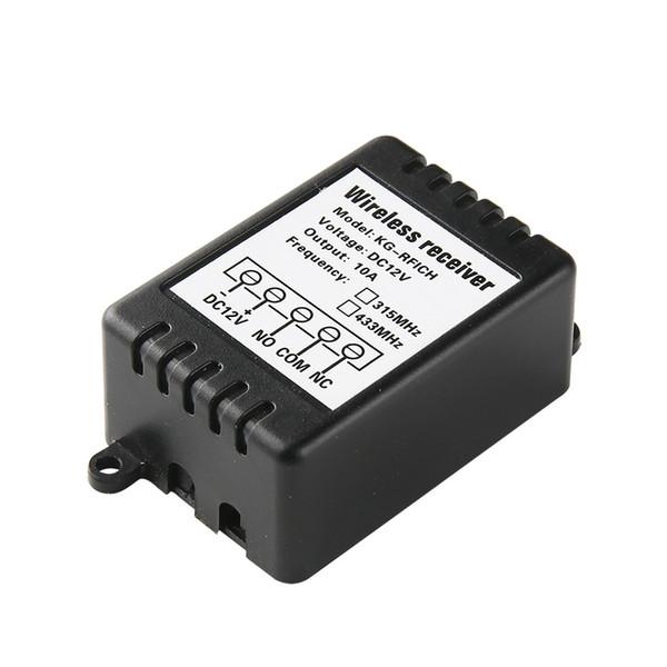 KTNNKG DC12V Module de relais à distance Commutateur de commande de lumière sans fil Contrôleur de maison intelligente Récepteur pour EV1527 Universel 433 MHz RF