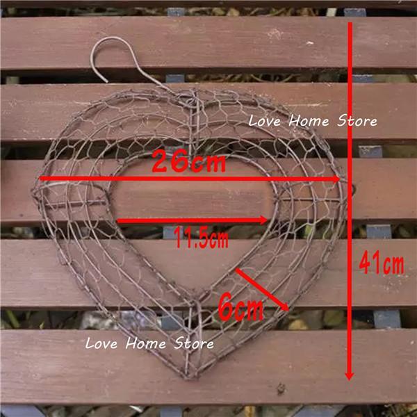 Herzform groß