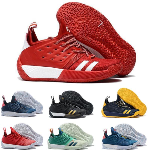 2019 Harden 2 Vol.2 Men Scarpe da basket Harden 2.0 Trainers Championship MVP Finali Mens Designer Sneakers sportive Taglia 40-46
