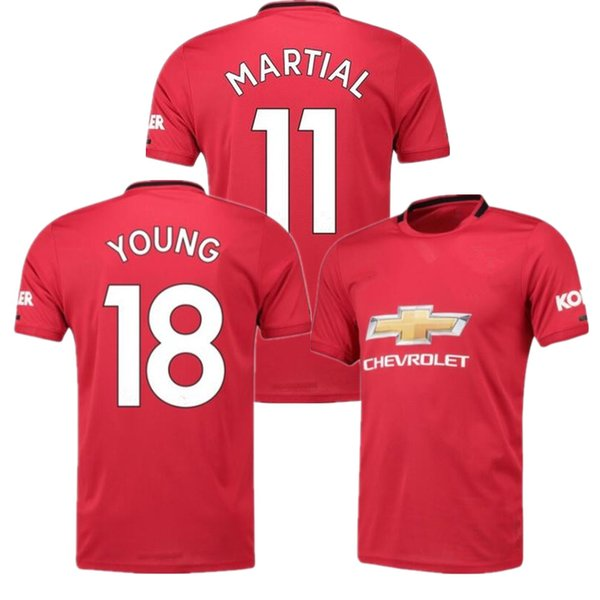 Man Player version POGBA soccer jersey 2019 2020 LINGARD LUKAKU RASHFORD football shirt UniTEd UtD 18 19 20 uniforms jerseys Manchester