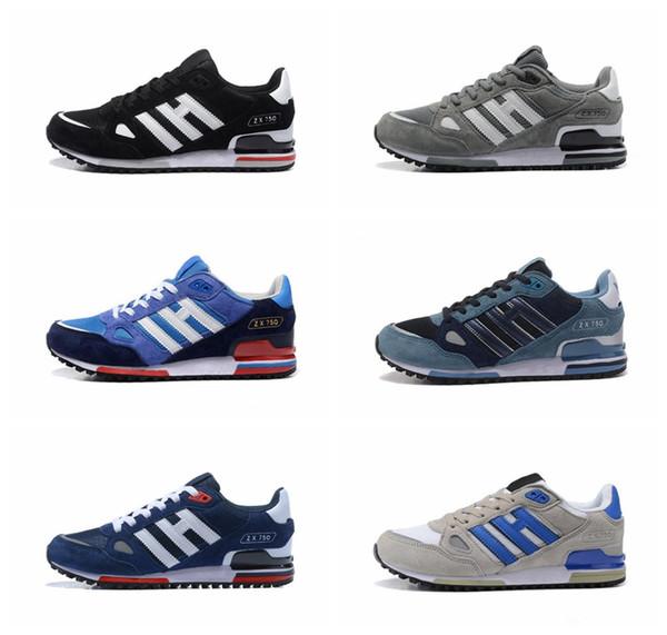 Acquista Adidas Commercio All'ingrosso EDITEX Originals ZX750 Sneakers Zx 750 Uomo E Donna Atletica Traspirante Scarpe Da Corsa Formato Libero Di