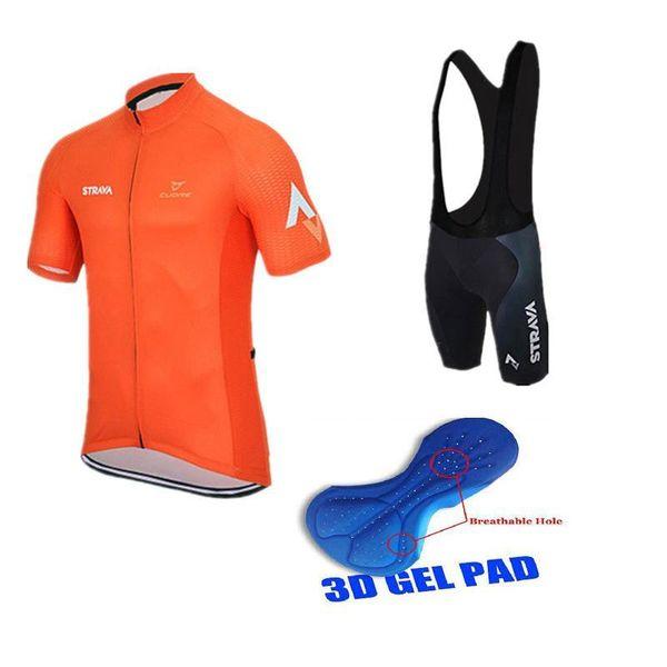 Ropa Ciclismo Strava équipe d'été cyclisme maillot Vtt Maillot respirante Vêtements Vélo rapide -Dry à manches courtes vélo sport A0401