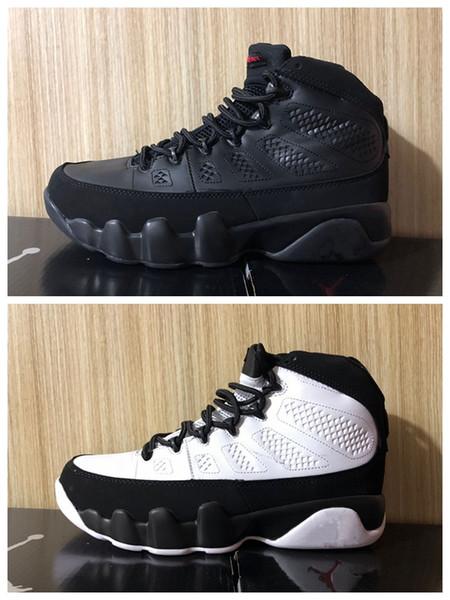 Bu It 9 9s Erkek Ayakkabı Serin Grey UNC PE Atletizm Spor Spor ayakkabılar 7-13 Bred Ruh antrasit mı Rüya