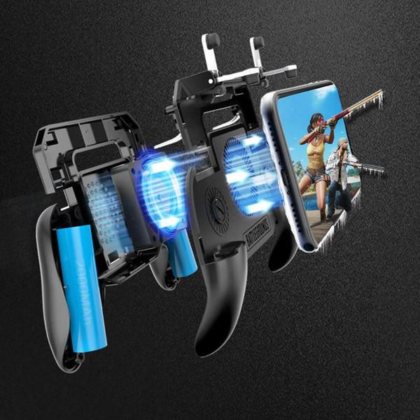 SR Cooler Вентилятор охлаждения Игровая панель Pubg Телефонный контроллер Рукоятка Игровые планшеты Smart Telefoon Trigger Game Fire Doel Sleutel Voor PUBG Mob