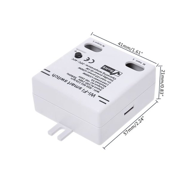 Wifi Switch Timer Wireless APP Remote Control Intelligent Home Module AC100  240V 5A For Home Appliances And Lamps Remote Wireless Wireless Remote