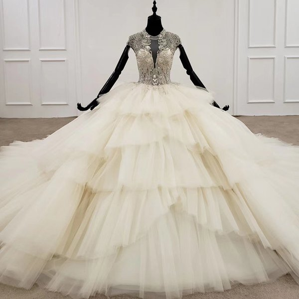 wedding dresses bridal gowns with long train
