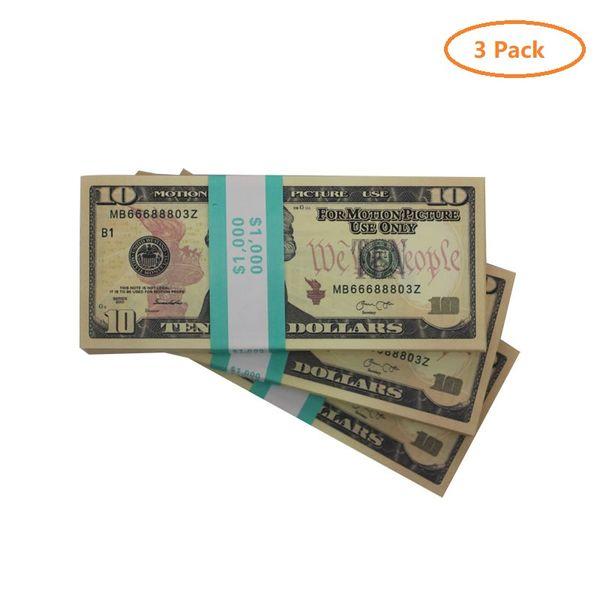 3 пакет 10 dolars (300pcs)