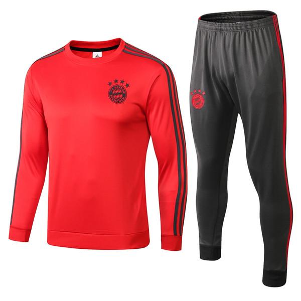 2018 #902 MATA training suit Bayern Munich soccer tracksuit 18 19 JAMES MULLER LUKAKU ALEXIS track suits Man football jackets