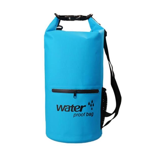 TM Waterproof Outdoor Storage Bag Travel Shoulder Strap Double Swimming Waterproof Ultralight Dry BagShip from US