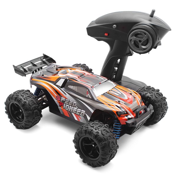 380 Brushed Motor RC Cars 1:18 Off-Road Racing Car RTR 40km/H 2.4GHz 4WD Steering Servo High Speed Remote Control Toys for Kids