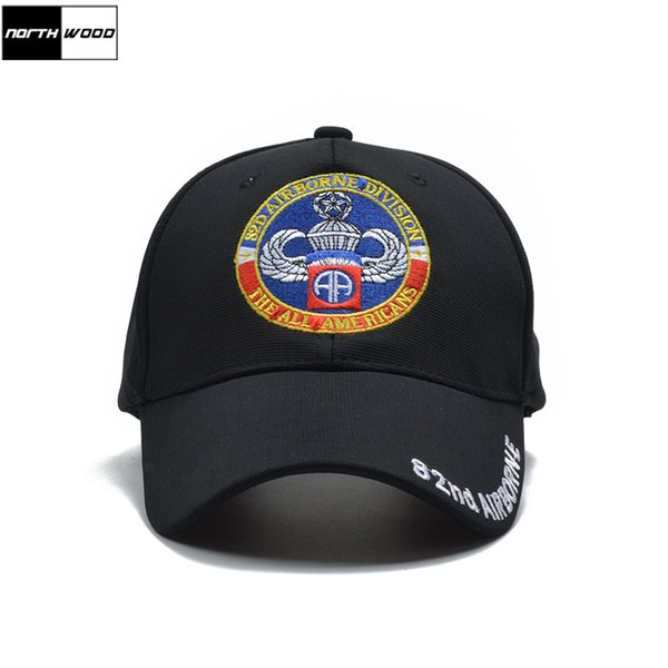[northwood] brand 82nd airborne tactical cap new army baseball cap men women snapback casquette homme pattern hat thumbnail