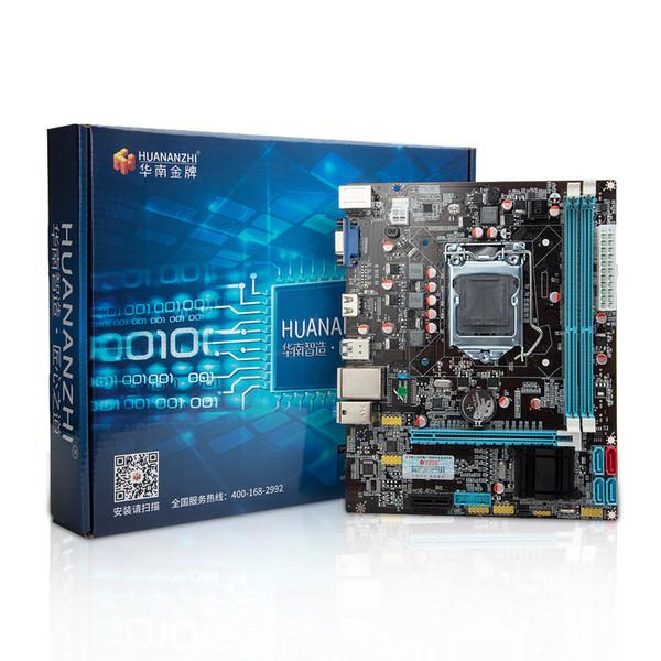 HUANAN golden B75 Desktop Motherboard LGA1155 für i3 i5 i7 CPU unterstützt ddr3-Speicher