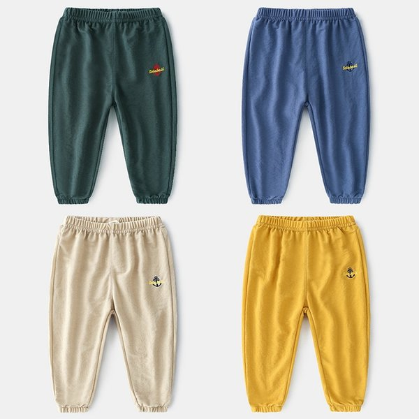 New Summer-style Foreign Trade Single Brand Childrens Wear Boys Pure-color Thin-style Tencel Mosquito-proof Pants From China Supplier