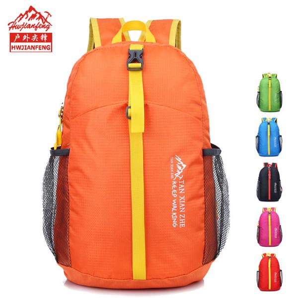 NPASON 2019 Waterproof super light bag bike cycling riding backpack folding package laptop pack outdoor backpacking hw507